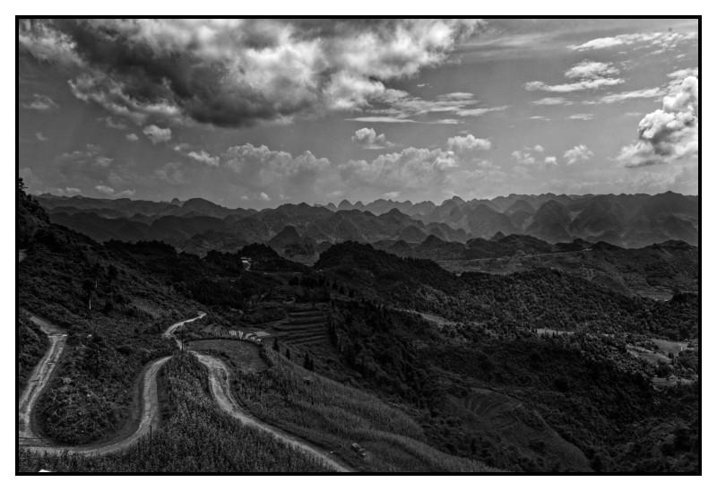 Vietnam 2018, Route du nord ouest